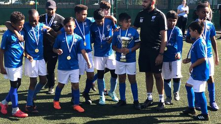 Wapping Youth FC's Nahimul Islam has received the Diana Award for going above and beyond in their da