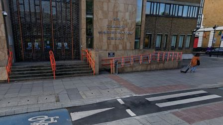 A11 Bow Road... where Peter McCombie was injured and died 7 days later in hospital. Picture: Google