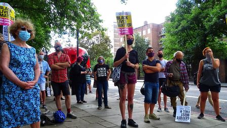 Black Lives Matter protests have been held across Hackney since the death of George Floyd in the Uni