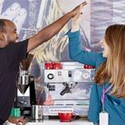 High five... for a social enterprise start-up which got funding to get off the ground. Picture: Spen