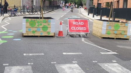 Skew Bridge on B118 Old Ford Road is closed after campaign by cyclists... but it's throwing traffic