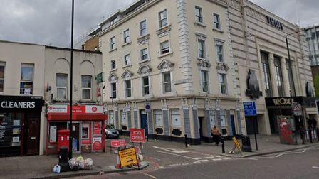 Saying goodbye to the neighbours... Stepney post office moving away from The Troxy and the local dry