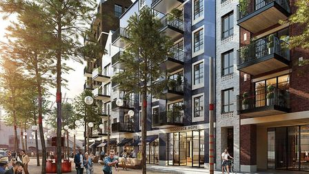 One of several Isle of Dogs huge developments by Ballymore similar to their Millharbour scheme begin