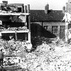 South Hallsville School in Canning Town... destroyed on September 8/9, 1940, killing 600 sheltering