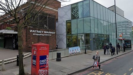 The testing centre at Watney Market idea store in Commercial Road... by appointment. Picture: Google