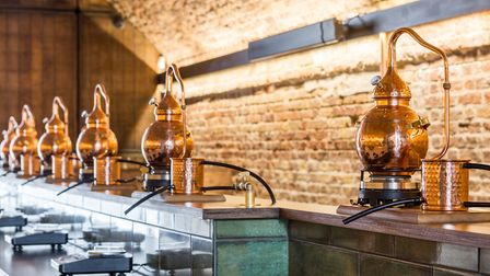 Gin-making under Haggerston railway arches switched to sanitisers during emergency, but now back to