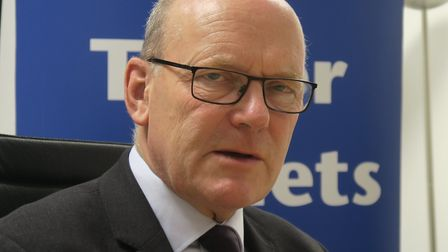 """Mayor John Biggs... Those who harrasses neighbours should forfeit social housing."""" Picture: Mike Bro"""