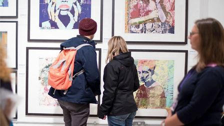 Roy's Art Fair due to to open in Brick Lane October 8 now cancelled because of Covid emergency. Pict
