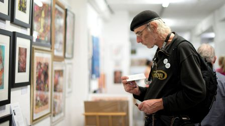 Art fair had already been postponed once from April because of lockdown ban. Picture: Annalisa Burel
