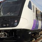 'The next Crossrail train has been delayed 3 years...' like this one at Custom House. Monica Wells