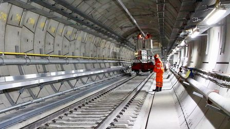 No bets... on when date is fixed to complete Crossrail. Picture: Monica Wells