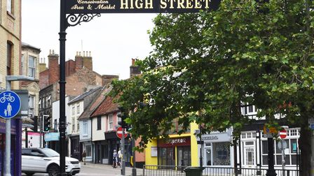 The entrance to Lowestoft's historic High Street. Picture: Mick Howes