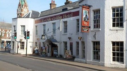 Ye Olde Griffin Hotel in March