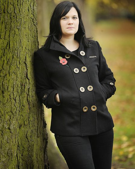 Nikki Scott, whose husband Lee who was killed by a roadside bomb in Afghanistan two years ago. Pictu