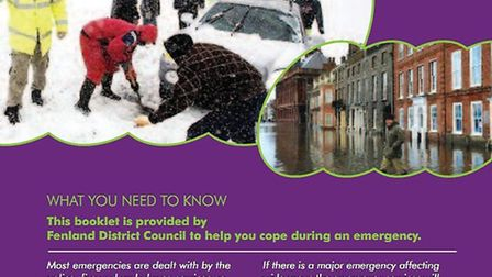 The cover of the 'Preparing for Emergencies' booklet.