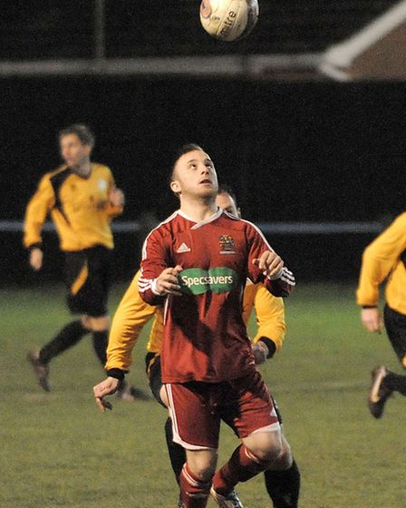 March v Wisbech football. Picture: Steve Williams.