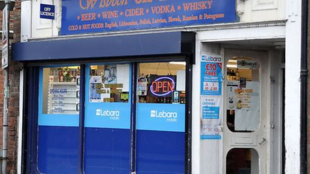 Wisbech Off Licence.