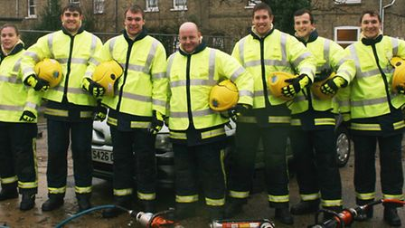 Cambridgeshire's new on-call recruits. Picture: CAMBS FIRE AND RESCUE SERVICE