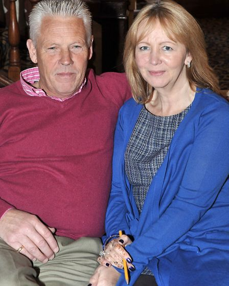 James and Rosemary Farrelly, owners of the Rose and Crown in Wisbech.