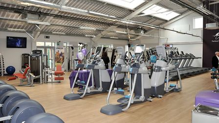 Chatteris Leisure centre's state of the art gym.