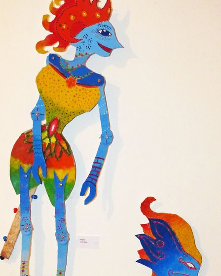 Puppets by Helayna Shelton and Alice Easey