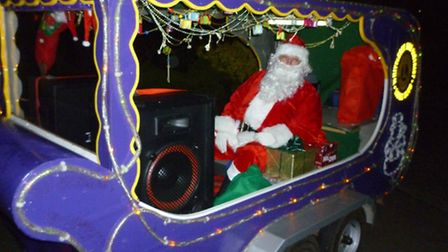Santa in fundraising mode for the Whittlesey and District Lions
