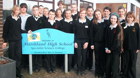 Students at Marshland High School are carrying out energy-saving project