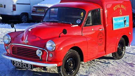 The 1961 Morris van, used by the Royal Mail in Wisbech, will be sold at auction.