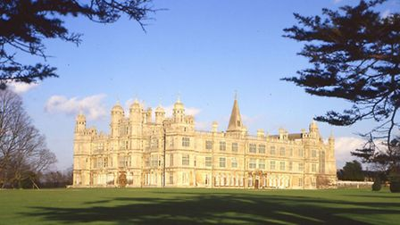 Burghley House. Pictured: Burghley House