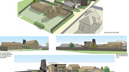 Tower Mill, Little Downham: approval given for conversion and new homes