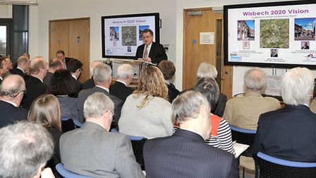 Launch of the Wisbech 2020 Vision.