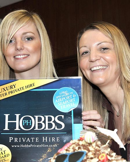 Greater Peterborough Holiday Show Whittlesey. Left: Nicola Hobbs and Natalie Hobbs.