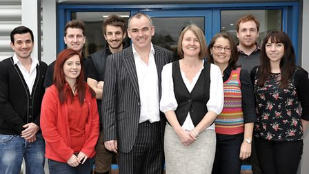 3B Design and Print Open day at Unit 2, Norman Business Park, March, The 3B Team.