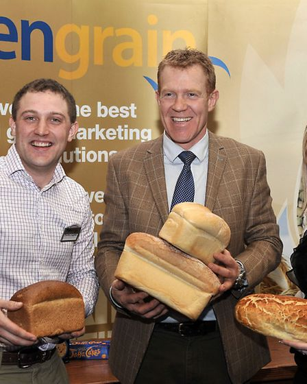 The official launch of the new Cambridgeshire Fens tourism website. Left: Charles Loughlin, Adam Hen