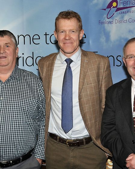 The official launch of the new Cambridgeshire Fens tourism website. Adam Henson from BBC Countryfile