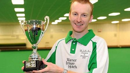 BOWLING KING: Nicky Brett got to the quarter finals of the World Bowling Championships in Norfolk.
