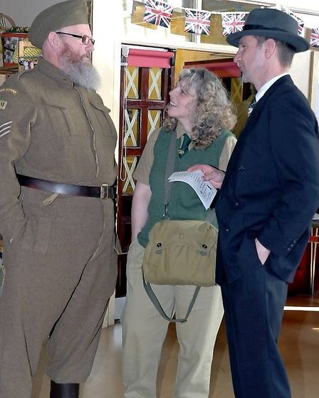 Fenlanders get into character at a previous 1940s themed event