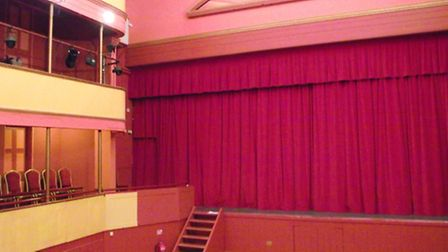 Cameo Curtains installed flame proofed curtains at Cambridge Buddhist Centre