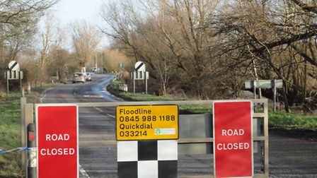 The Environment Agency's flood gates