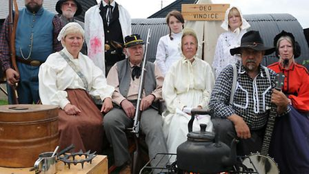 at Burwell Museum, is the American Civil War re-enactment