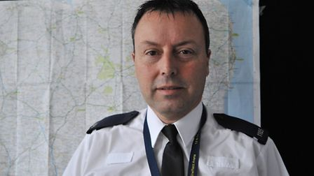 Casualty Reduction Officer PC Steve Gedny
