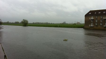 River Great Ouse between Godmanchester and Huntingdon