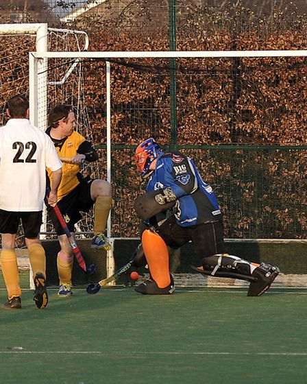 March II vs March III. March Hockey Club staged an inter-club derby between their second and third t