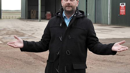 Peter Grice of PG Packaging, Coates, Whittlesey.