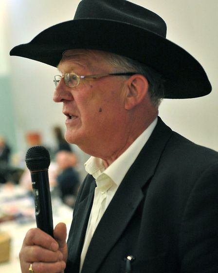 Cllr Owen at the Fenland District Council election count in 2011.