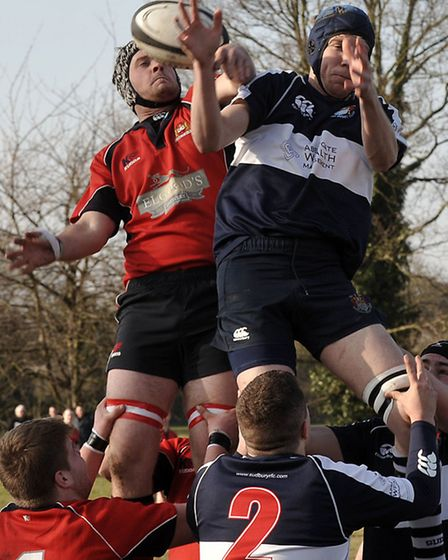 Wisbech Rugby Club vs Sudbury. Picture: Steve Williams.