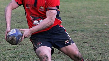 Fly-half Will Pettit had another fine game for Wisbech. PICTURE: STEVE WILLIAMS