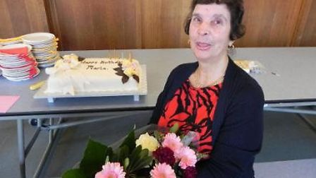 Maria Farrow is celebrating her 80th birthday and 60 years service at the school