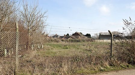 Wisbech to March railway. End of the line at Oldfield lane Wisbech.