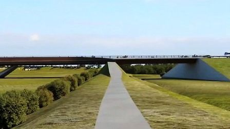 Animation of Ely Southern Bypass proposal. Go to our website to see the full video animation present